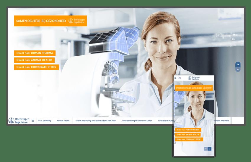 Online magazine Boehringer Ingelheim samen dichter bij gezondheid