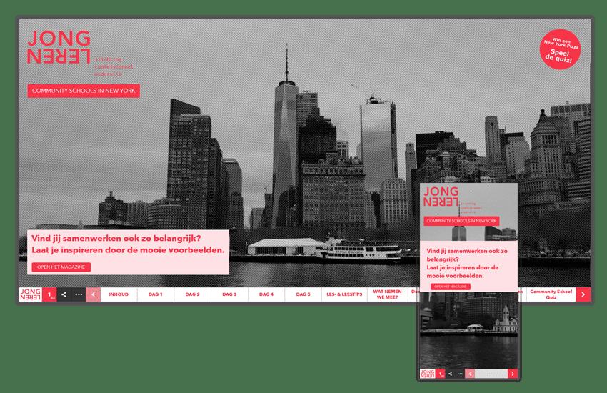 Online magazine stichting Jong Leren studiereis