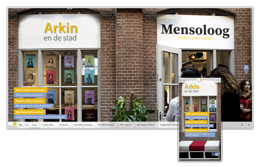 Online magazine Arkin en de stad